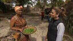 Guisado de plantas medicinais faz parte da história de comunidade quilombola