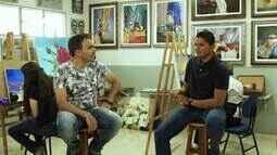 Tô Indo 15/09: Em Uberlândia, Mário conta a história do artista plástico André