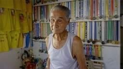 Inspiração para corredores de rua, Cedil completa 92 anos e recebe homenagem