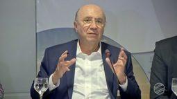 Candidato à Presidência da República, Henrique Meirelles do MDB, faz campanha em MS