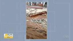 Chuva provoca estragos em Pirenópolis