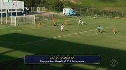 Noroeste vence o Desportivo Brasil e sonha com classificação na Copa Paulista