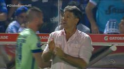 """Renato Portaluppi se consolida como """"professor"""" do Grêmio e ganha confiança dos jogadores"""