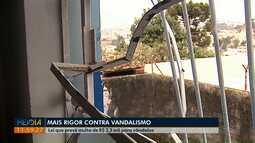 Prefeitura de Ponta Grossa sanciona lei que aumenta rigor contra vandalismo