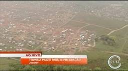 Prazo para desocupação de área invadida em Jacareí termina nesta sexta