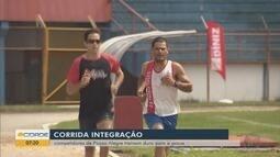 Competidores de Pouso Alegre se preparam para a Corrida Integração