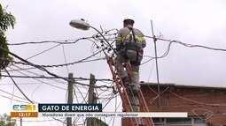 EDP identifica 55 mil 'gatos' de energia no ES apenas neste ano