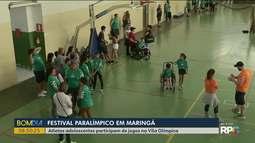 Festival Paralímpico reúne crianças e adolescentes em Maringá