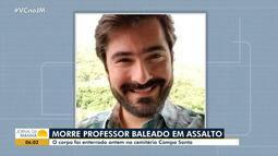 Luto: morre o professor baleado em assalto no Rio Vermelho