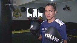 Com o apoio da torcida, Rose Volante defende título mundial dos leves contra Yolis Marrugo