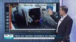 Dois homens são baleados no Centro de Paraty