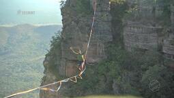 Highline nos paredões de Chapada dos Guimarães, confira aqui essa aventura - Bloco 04