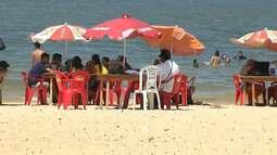 Santarenos aproveitam praias e balneários durante feriado de N. Sra. Aparecida