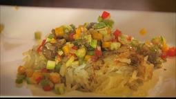 Chef JPB traz prato feito pelo português Hélio Loureiro, famoso no mundo inteiro.
