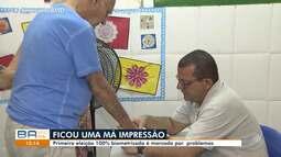 Biometria: primeira eleição com novo sistema é marcada por problemas e filas