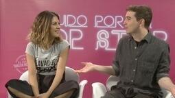 Dieguinho conversa com os diretores do filme 'Tudo por um Popstar'
