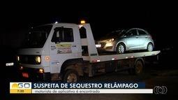 Motorista de aplicativo desaparecido é encontrado em Anápolis
