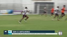 Roxinho empata com Queimados em primeira partida após prisão de jogador