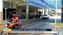 Justiça determina suspensão de taxa de estacionamento no Aeroporto de Juazeiro do Norte