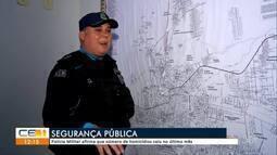 Polícia Militar afirma que número de homicídios caiu no último mês em Juazeiro do Norte