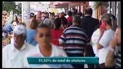 Levantamento aponta que mais de 20% dos eleitores de Araxá deixaram de votar no 1º turno