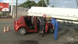 Em apenas uma manhã, São Luís registra nove acidentes de trânsito