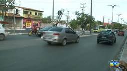 Veja a movimentação do trânsito em São Luís