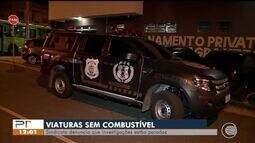 Sindicato diz que viaturas estão sem combustível no Piauí