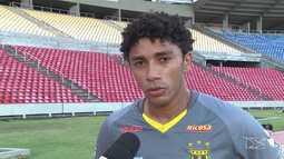 Misael é uma das novidades do Sampaio para encarar o Londrina