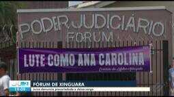 Advogados protestam em apoio à juíza que denunciou situação de Fórum de Xinguara, no PA