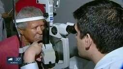 Mutirão no Recife oferece exames para a prevenção de glaucoma