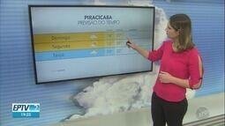 Confira a previsão do tempo para as cidades da região