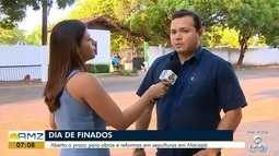 Aberto o prazo para obras e reformas em sepulturas em Macapá, no AP