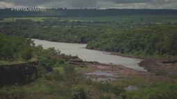 Cachoeira Dourada de Minas faz divisa com Goiás