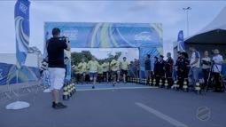 Corrida em Cuiabá revela atleta que competiu com mais de 30 kg nas costas por 7 km