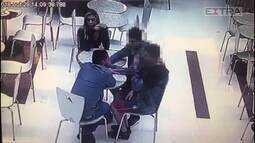 Suspeito da morte de jogador Daniel coagiu testemunhas em shopping
