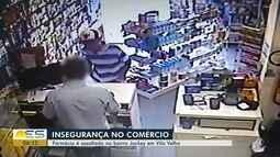 Farmácia é assaltada no bairro Jockey de Itaparica, em Vila Velha