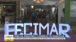 Feira da Indústria e Comércio atrai visitantes em Maravilha; confira programação