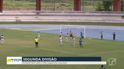 Em jogo com três expulsões, Pinheirense e São Francisco empatam sem gols no Mangueirão