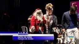 Papai Noel já chegou em Campos do Jordão
