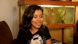 Conheça Thalyta Lima Costa, uma das dez semifinalistas do Novos Talentos Kids
