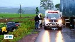 Cinco pessoas morrem em acidentes em rodovias estaduais de Goiás
