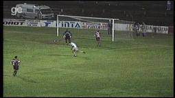 Os gols de Desportiva Ferroviária 0 x 2 Criciúma, pela Série B do Brasileiro 1998