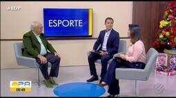 Ivo Amaral abre o final de semana com os destaques do esporte paraense
