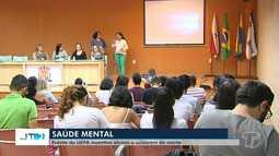 Estudantes da Uepa participam de simpósio sobre saúde mental em Santarém