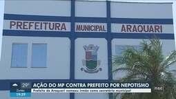 MP entra com ação contra prefeito de Araquari por nomear irmão