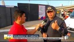 Polícia Militar monta esquema de segurança para o Carnatal 2018