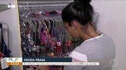 Lojas de moda praia esperam aumento de 60% nas vendas em Angra