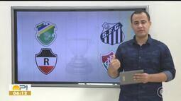 Confrontos de times piauienses na Copa do Brasil são definidos