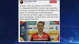 Ituano anuncia o atacante Ramon, quinto reforço para 2019